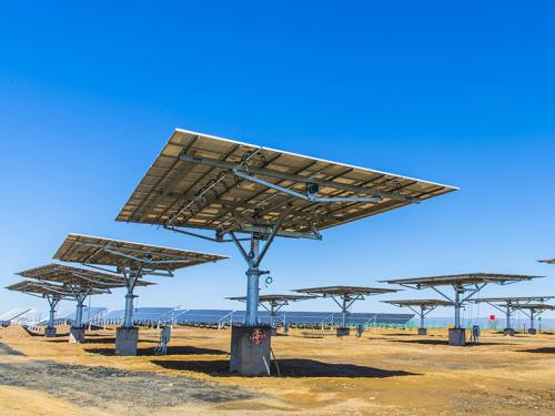 40-panel Dual Axis Solar Tracker manufacturer